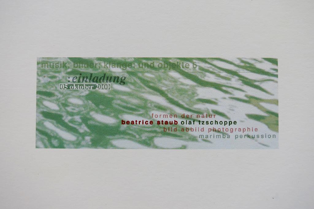 Formen der Natur BILD/ABBILD/PHOTOGRAPHIE in Wallisellen